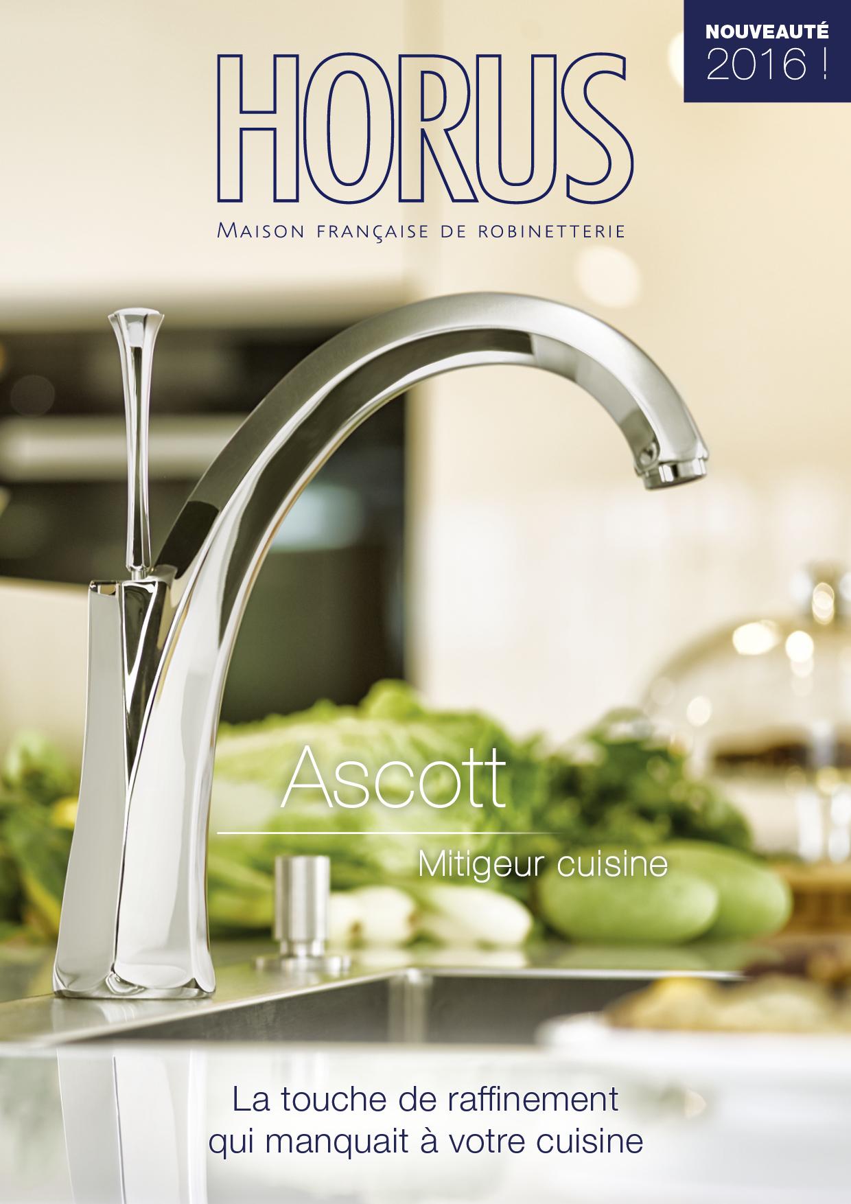 HORUS Ascott kitchen brochures